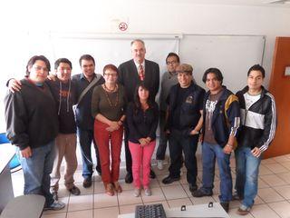 Richard at UNAM