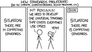 N+1-standards comic
