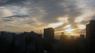 Sunrise over Tokyo Feb 2014