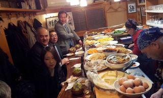 Dinner at Daiki Feb 2014