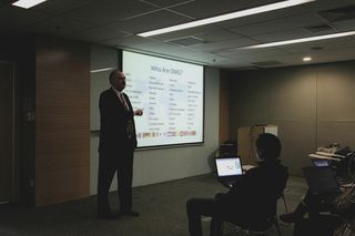 Richard speaking to IBM Beijing